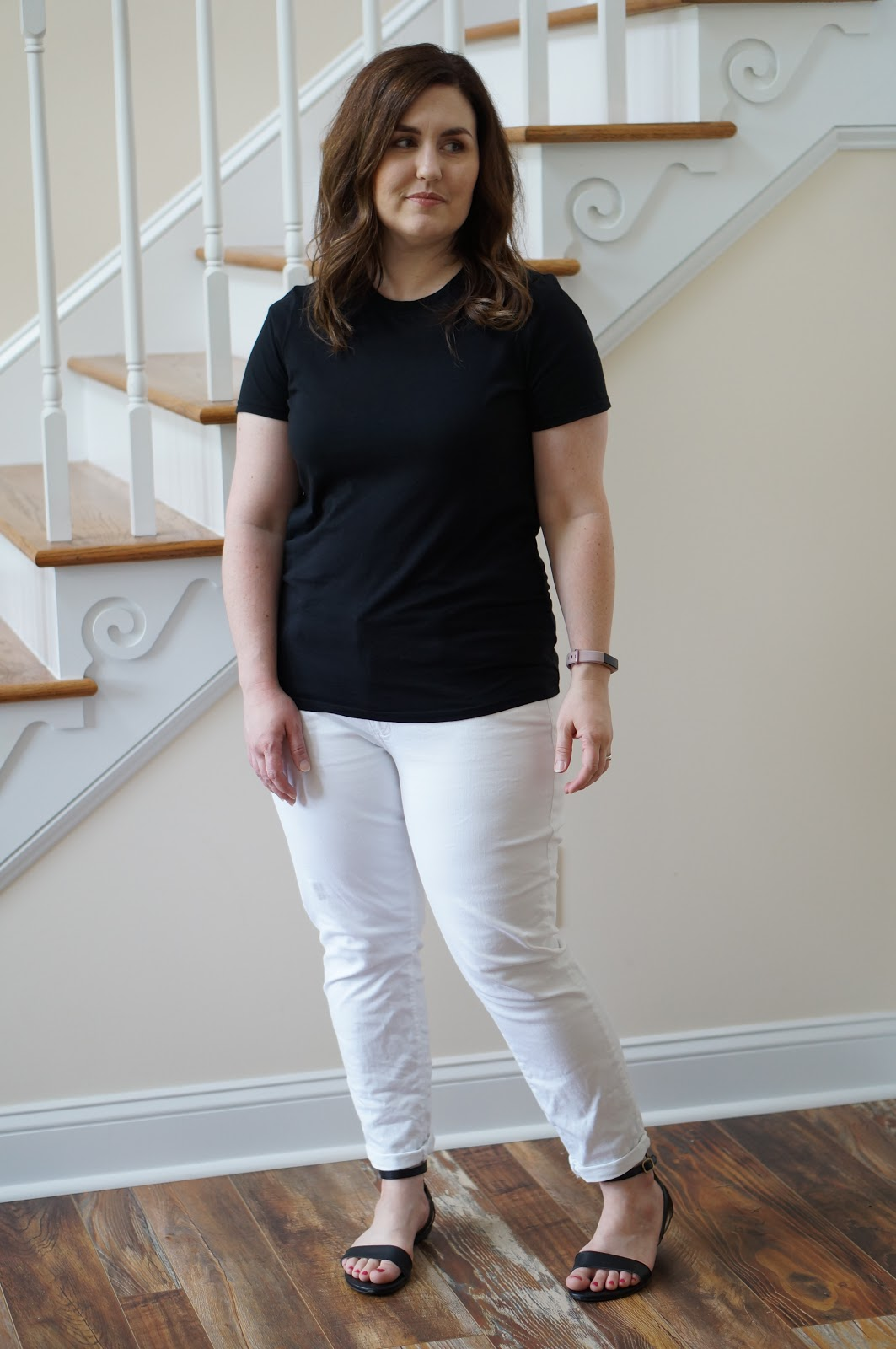 Popular North Carolina style blogger Rebecca Lately shares an easy back and white summer outfit.  Click here to read more now!