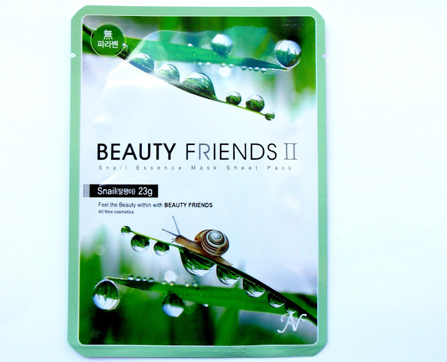 Beauty Friends II by Vanedo - Snail 23gr. Essence Mask Sheet Pack, review