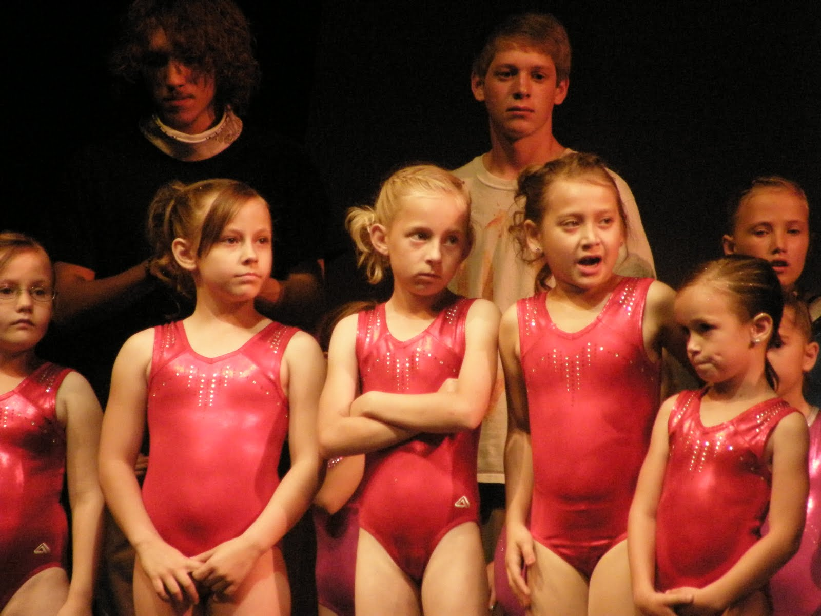 Life with the Larsons: 2011 Gymnastics Show