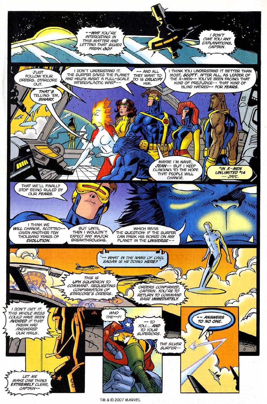 Read online Silver Surfer (1987) comic -  Issue #123 - 9