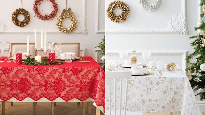 Toalhas de mesa para mesa de natal decora o e ideias - Zara home manteles mesa ...