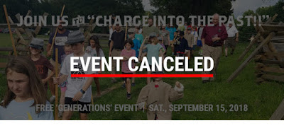 Canceled: 9/15 Harvest Day Generations Event