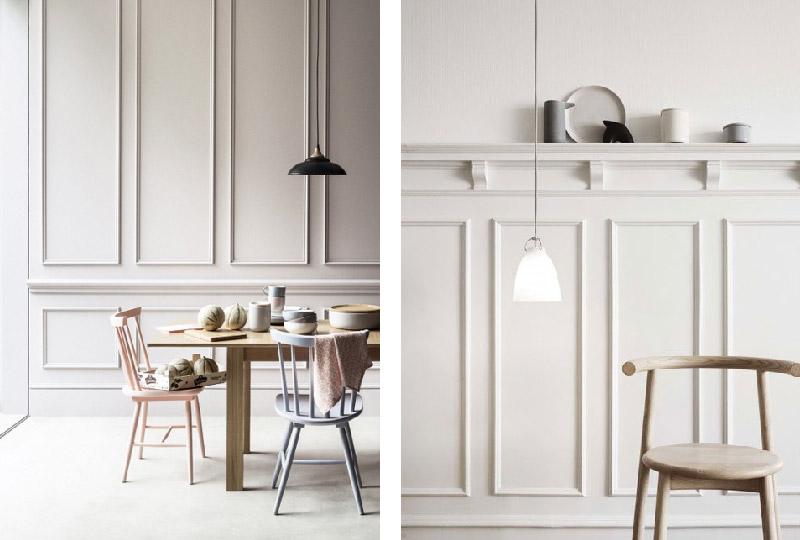 Pareti In Legno Bianco : Boiserie in legno per rinnovare le pareti di casa dettagli home