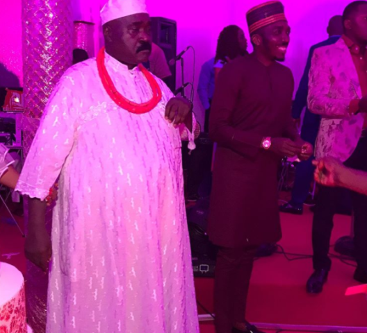 Former Edo state governor, Lucky Igbinedion, turned 60th yesterday May 13th. He had a party in Abuja that was attended by his family members, friends and well wishers. Continue to see more photos..