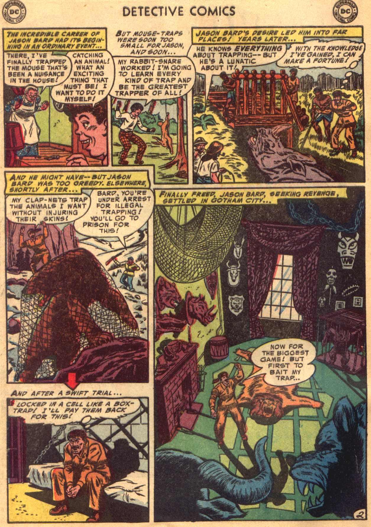 Read online Detective Comics (1937) comic -  Issue #206 - 2