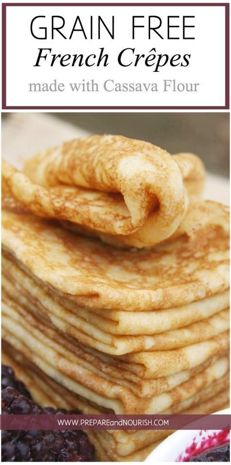 Grain-Free French Crepes Recipe