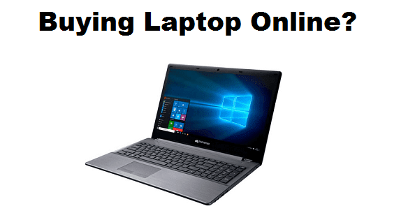 How to Buy a Laptop online in India