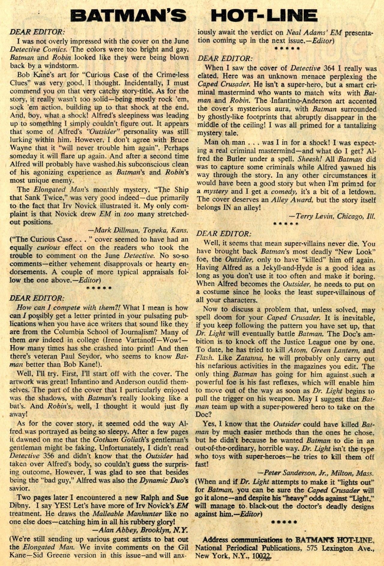 Detective Comics (1937) 368 Page 18