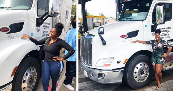 Yes, Black Women Own Trucking Companies Too!