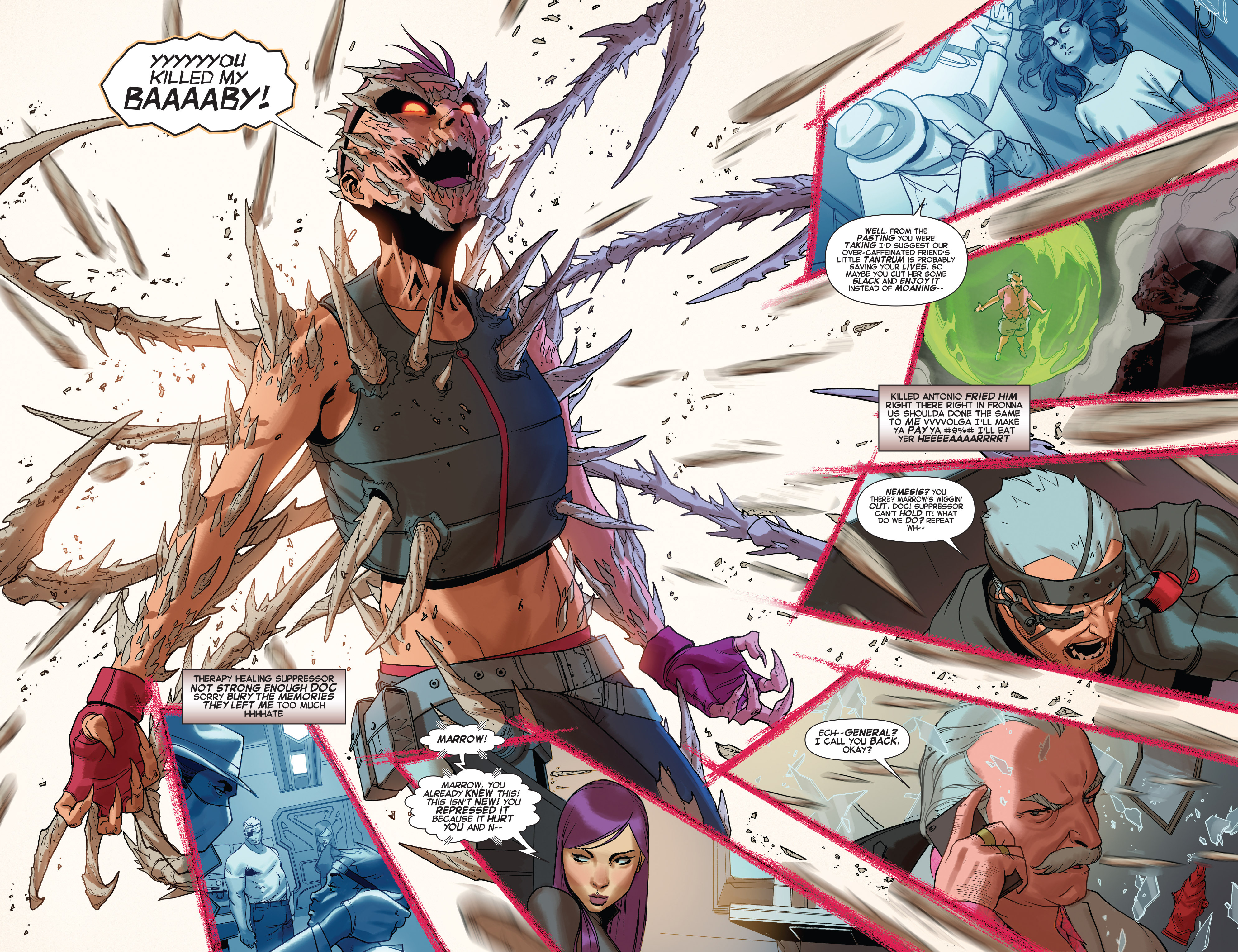 Read online X-Force (2014) comic -  Issue #5 - 15