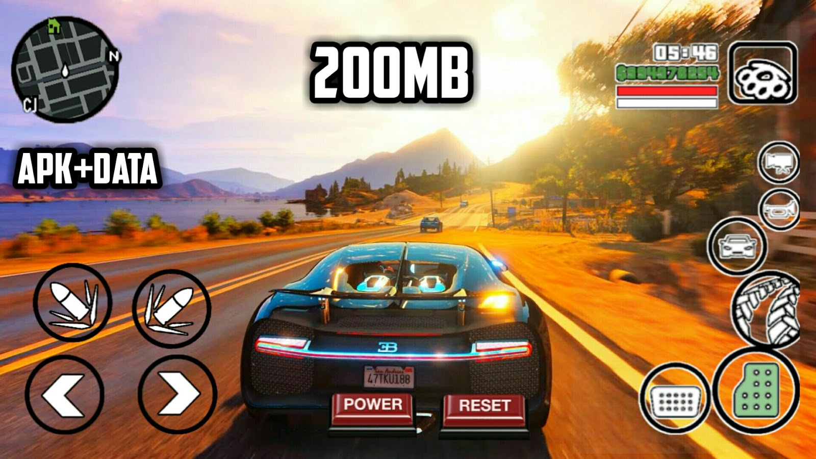 200MB] GTA V FULL HD GRAPHICS MODPACK APK+DATA |ALL GPU SUPPORTED