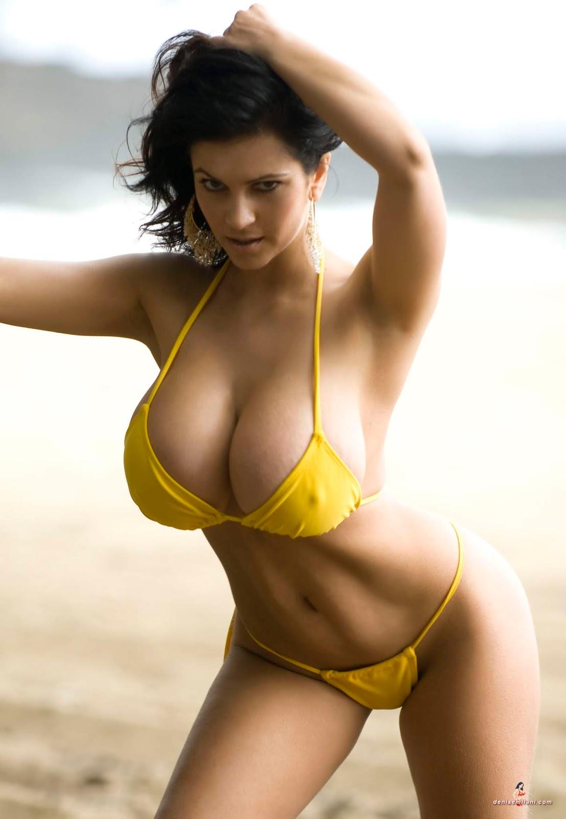 Bikini hot tit, kate deluna nue