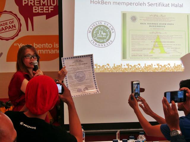 sertifikat halal MUI Hokben