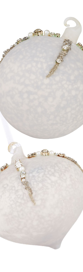 Harrods Antique Beaded Baubles (each ornament sold separately)