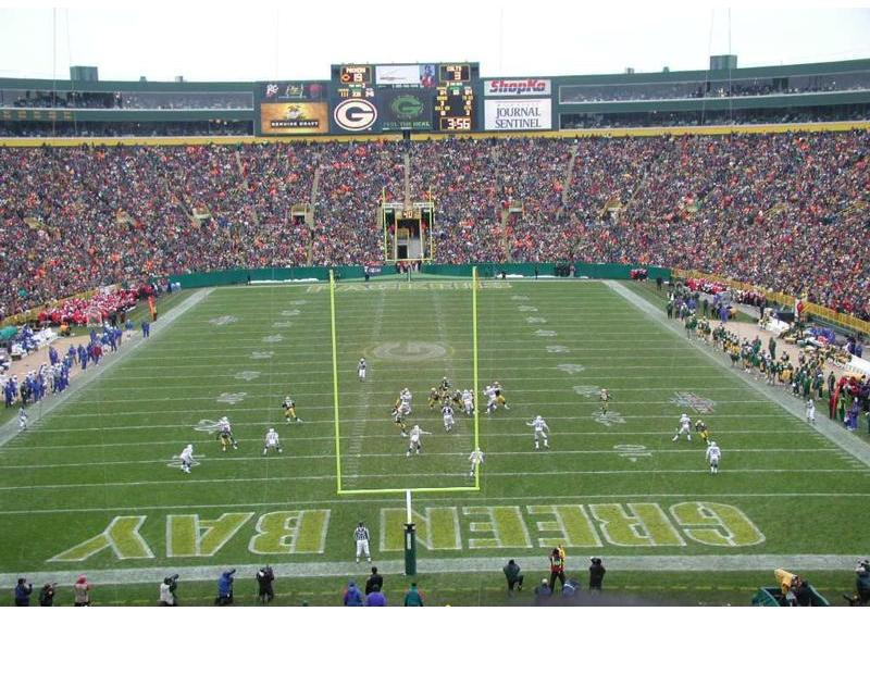 Football Field A Canadian Football Field Nfl Football Field Diagram
