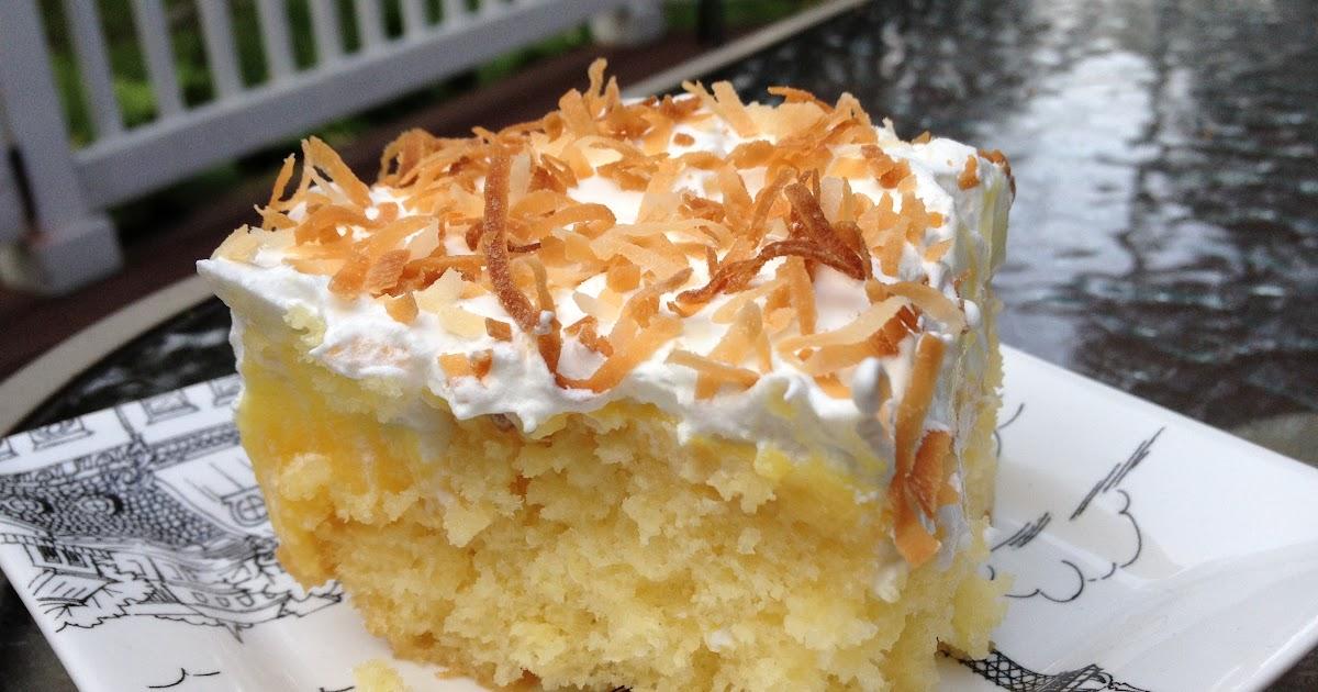 Girlsgonefood: Pina Colada Cake