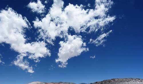 Indahnya Langit Biru