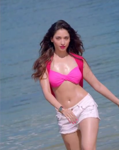 Tamanna Bhatia – Half Bikini Stills From Bollywood Movie Humshakals