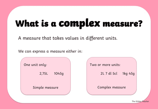 what is a complex measure
