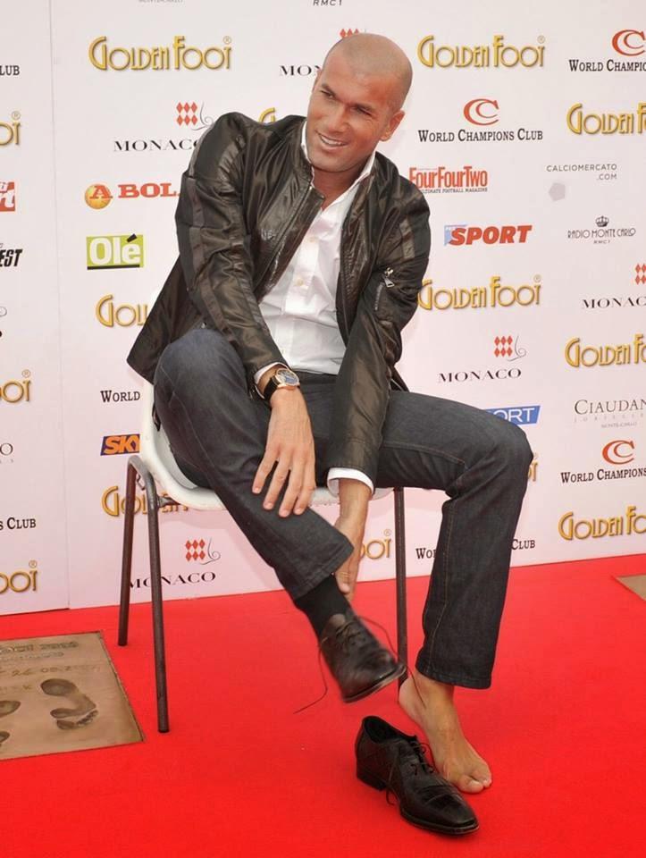 Straight Jock Feet Zinedine Zidane Hot Jock Foot-7470