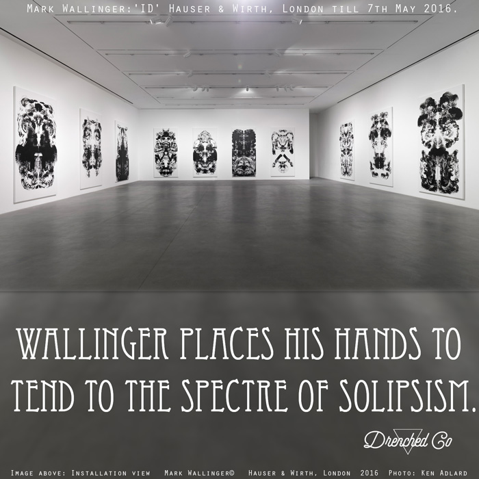 Image of Hauser & Wirth, London with art exhibition review by Drenched Co.