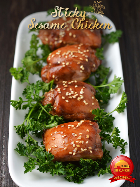 Sticky Sesame Chicken Recipe