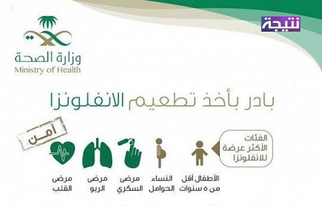 اماكن تطعيم الانفلونزا الموسمية فى السعودية 2017-1439 وطريقة الحصول على مصل حملة تطعيم الانفلونزا