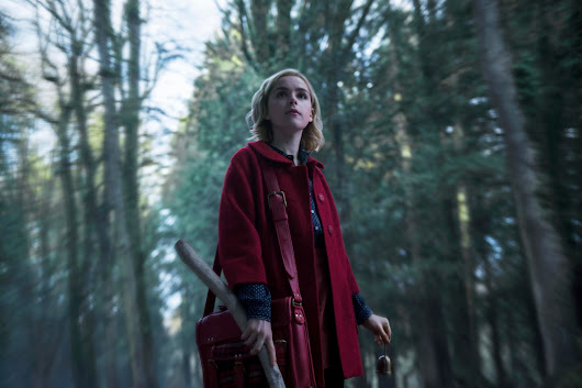 First Look: Kiernan Shipka in Netflix's Chilling Adventures of Sabrina
