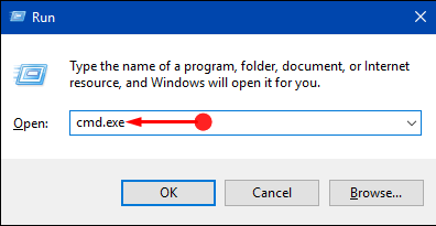 How to Start Command Prompt as Admin From Run Dialog in Windows 10