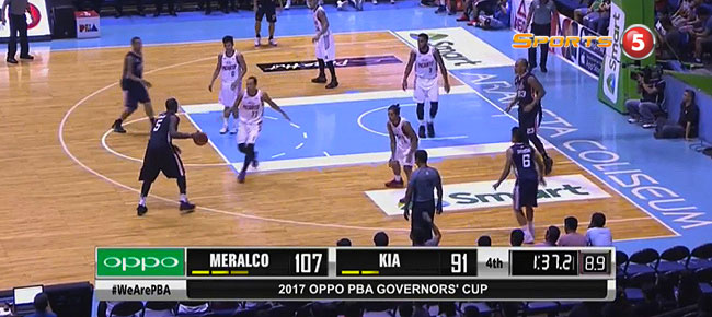 Meralco def. KIA, 112-97 (REPLAY VIDEO) August 6