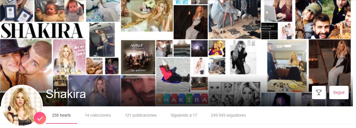 We heart it, Shakira