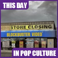 Blockbuster rented it's last video on November 11, 2013.