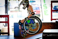 Worldwide Theater Protest, Wheelchair Athlete Ella Frech