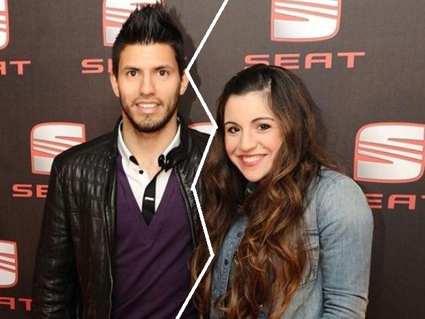 Former husband and wife couple: Sergio Aguero and Giannina Maradona split