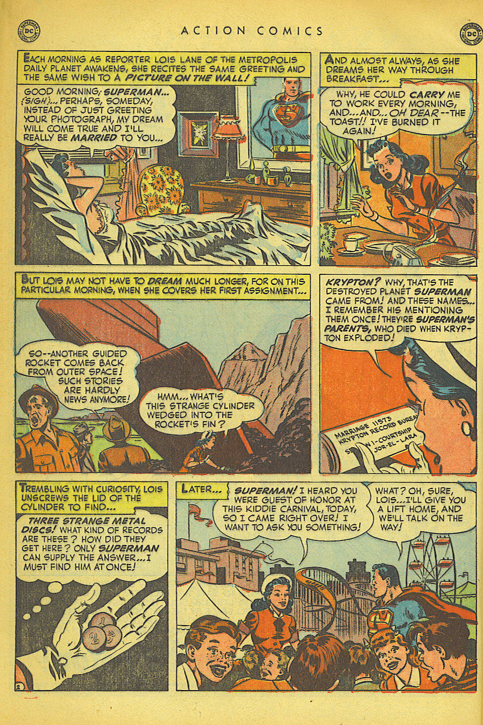 Read online Action Comics (1938) comic -  Issue #149 - 3
