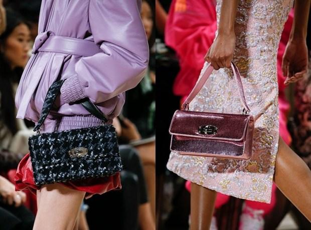 Fall-Winter 2018-2019 Women's Medium Size Rectangular Handbags Fashion Trends