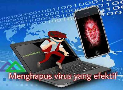 Menghapus virus di android