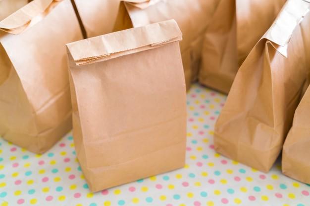 Sacos de papel (Imagem: Reprodução/Internet)