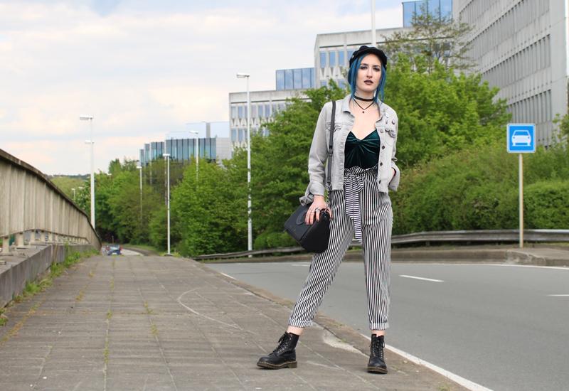 photo pour look pantalon paperbag