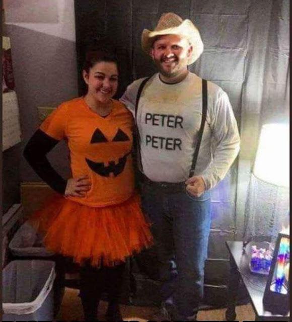 Peter Peter Pumpkin Eater Couples Halloween Costume