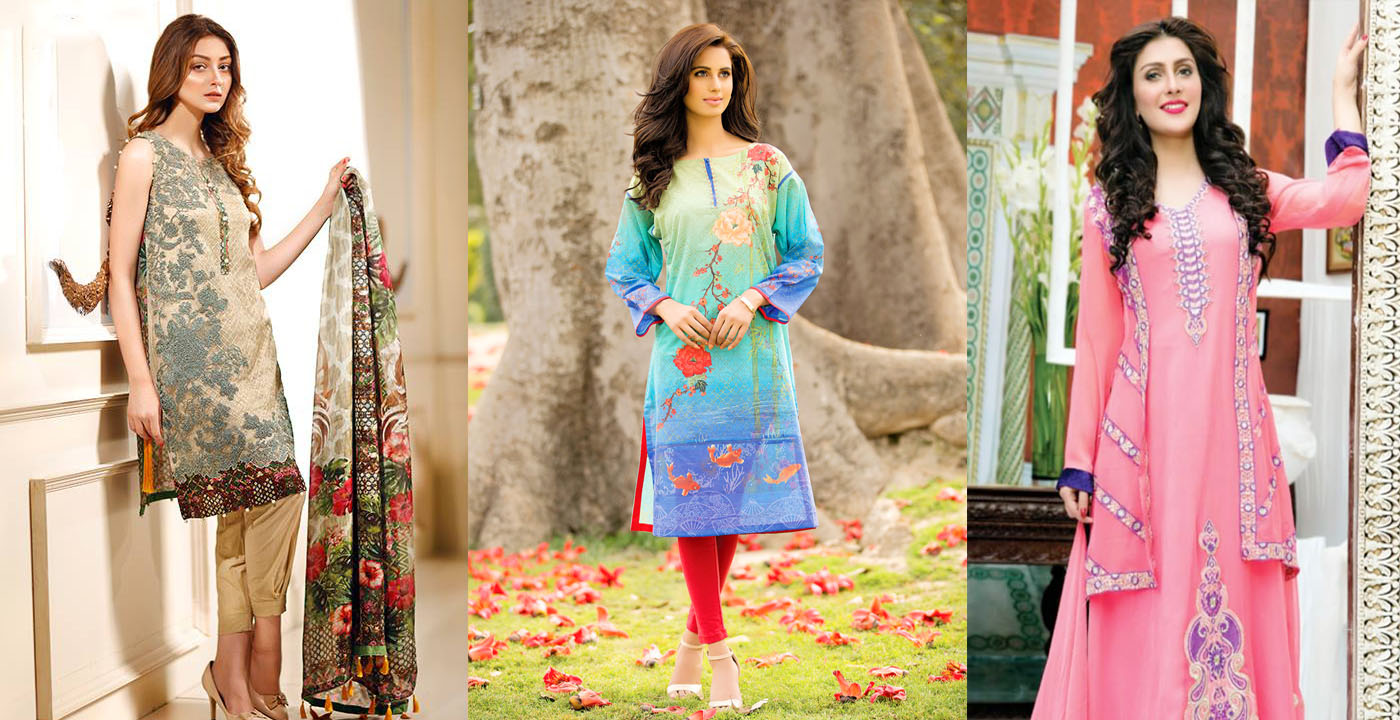 41d8cff98f4b Latest Pakistani Dresses Designs for Girls For Eid-Ul-Azha 2017 ...