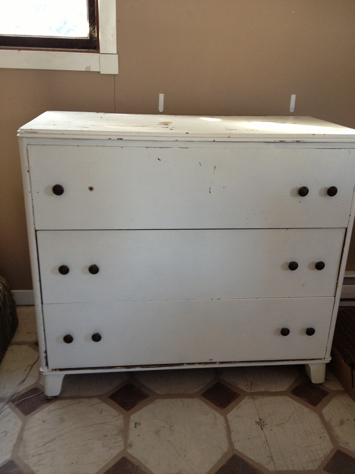 MacGIRLver: Dresser to Bathroom Vanity, Part I, Scary ...