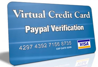 How to register PayPal with virtual credit card
