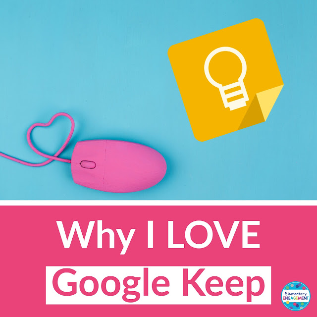 Google Keep is a great way to take notes and stay organized!
