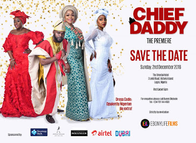 MARK YOUR CALENDARS PEOPLE, EBONY LIFE JUST ANNOUNCED THE PREMIERE DATE FOR 'CHIEF DADDY'