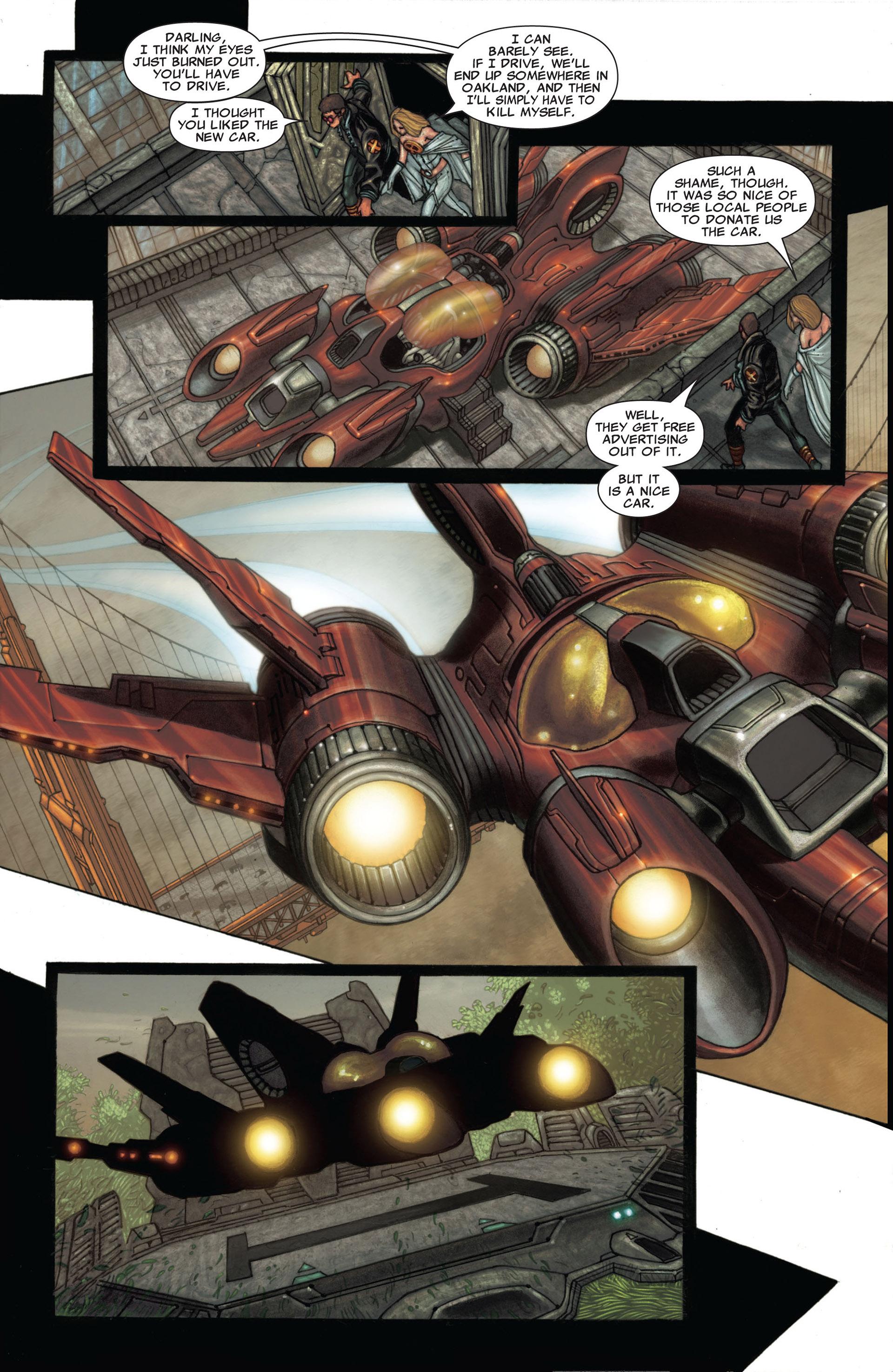 Read online Astonishing X-Men (2004) comic -  Issue #25 - 7