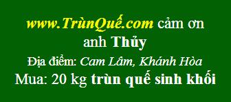 Trùn quế Cam Lâm - Khánh Hòa