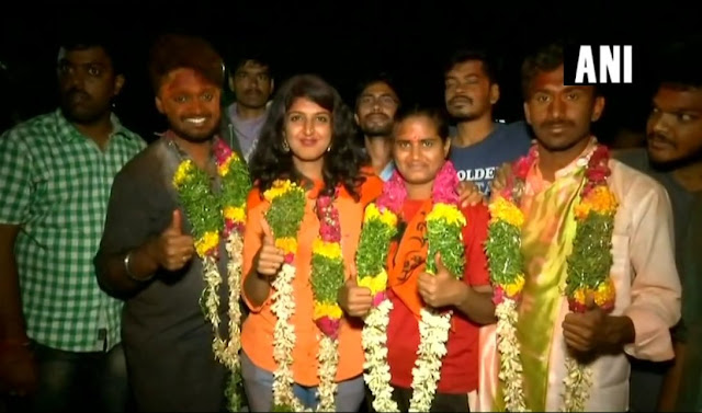 Congratulations to win ABVP panel at Hyderabad Central University, Left, demolished saffron