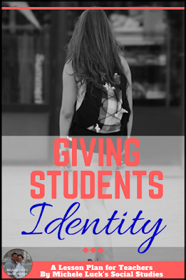 Giving students identity and helping them find self-worth in the middle and high school classroom can be the teacher's most important job. Read to learn how to make this important different in your classes.