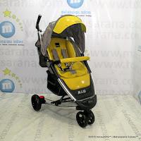 BABYELLE BS-S601 Maxi LightWeight Baby Stroller Beige